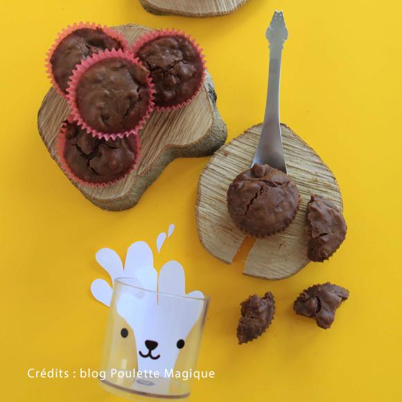 Les ingrédients pour réaliser les succulents muffins